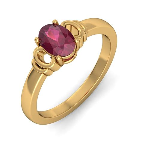 gold engagement ring designs claddagh design ruby