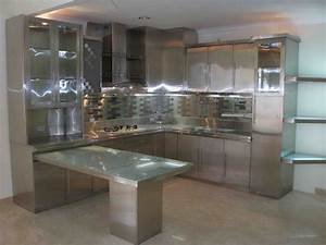 Lowes stainless steel kitchen cabinets lowes kitchen for Kitchen cabinets lowes with modern led wall art