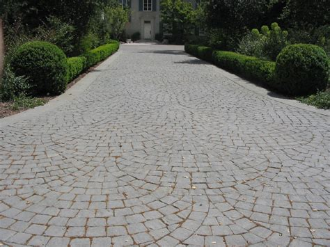 paving patterns for driveways driveways curbs walton sons masonry inc 30 years experience in custom design masonry