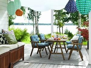 Table Terrasse Ikea : muebles de jard n y terraza ikea ~ Teatrodelosmanantiales.com Idées de Décoration