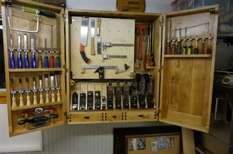 wall tool cabinet building a wall hanging tool cabinet 6 6 by