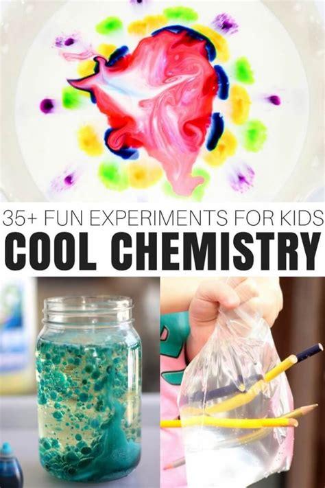 chemistry experiments  kids  bins