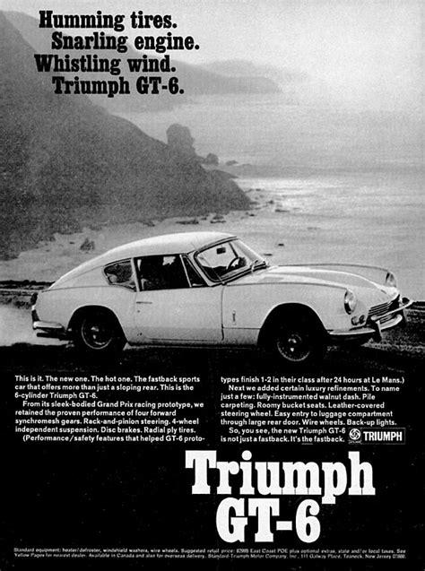 Spitfire and GT6 Vintage Magazine ads
