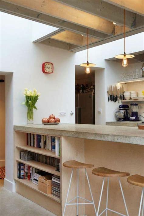 cuisine avec comptoir bar découvrez nos 84 jolies propositions pour cuisine avec bar