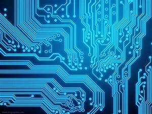 Circuit board background | PSDGraphics