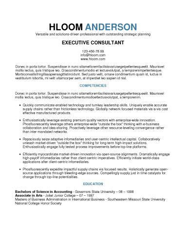 Resume Template For Senior Management by 1462 Best Images About Free Printables On