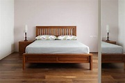 北歐風H款6呎King Size雙人加大實木床架 WMBS40T1|最好的柚木家具-優渥實木