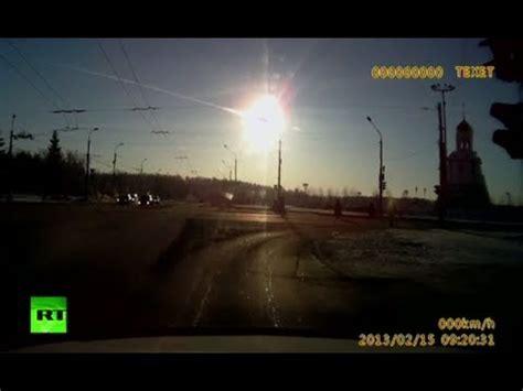 Russian Meteor Explosion