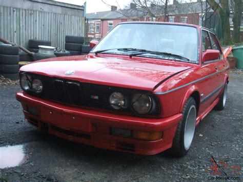 Bmw M535i Red Manual 1987 E28 Looking For A Landcruiser