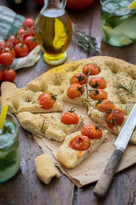 sel de cuisine focaccia tomates romarin et fleur de sel jujube en cuisine