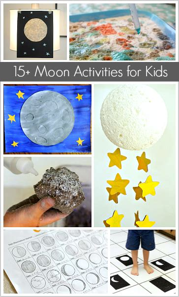 Astronomy for Kids: Moon Crafts and Activities | Moon ...