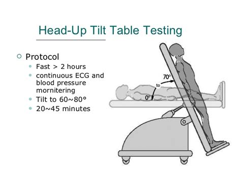 tilt table test 열정 임상 기립경 검사 up tilt table test 네이버 블로그