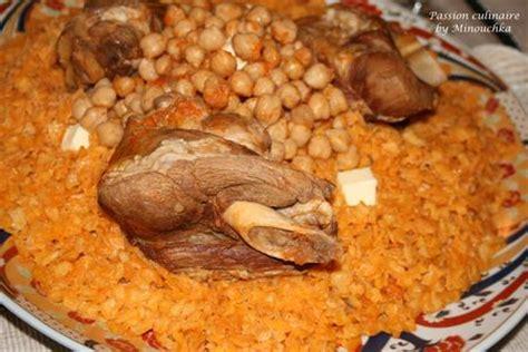cuisine libanaise recette tchakhchoukha spécialité algérienne par é culinaire by minouchka