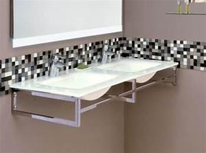 Vasque En Verre Salle De Bain : superior credence miroir pour cuisine 14 vasque de ~ Edinachiropracticcenter.com Idées de Décoration