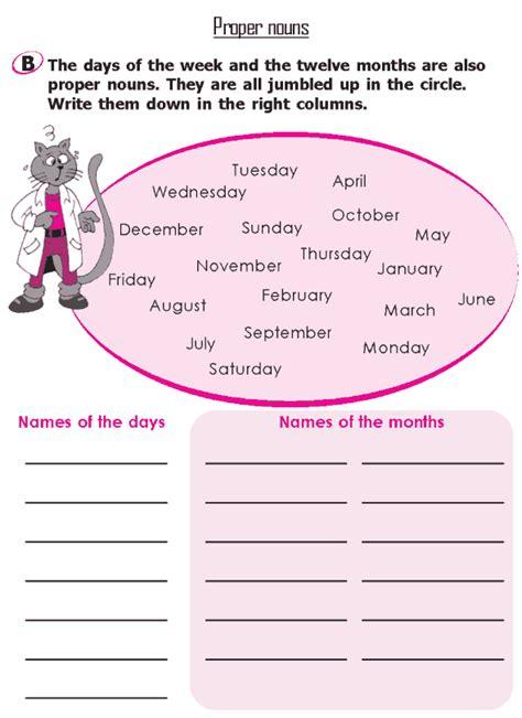 Good Grammar » Grade 2 Grammar Lesson 5 Nouns  Proper Nouns