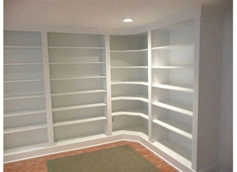 building a built in bookcase furniture in wall book shelves which furnished with