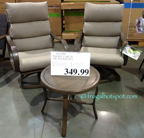 pacific casual patio furniture costco wherearethebonbons