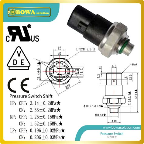 r22 fan cycling pressure 3 pressure ranges pressure switches control automobile ac