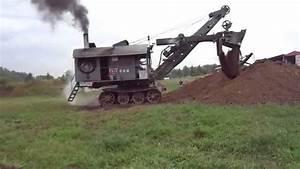 Bucyrus Erie steam shovel - YouTube