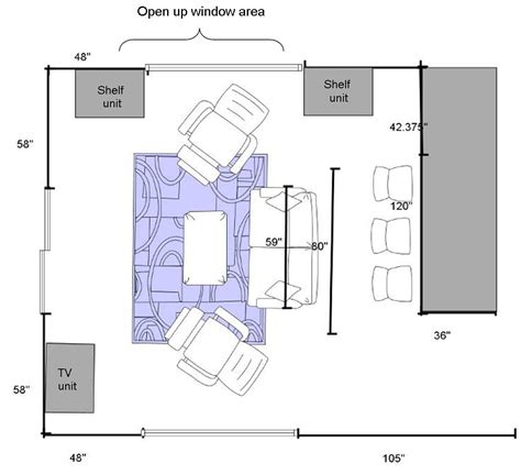 room floor plan how to give your crowded or bare room a polished look