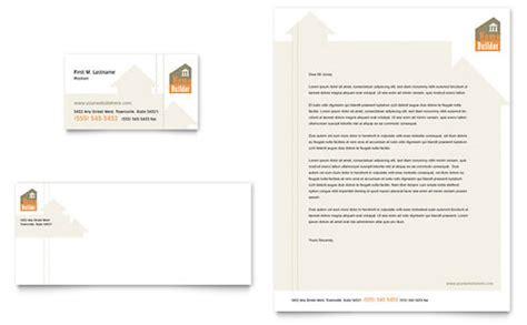 contractors letterhead templates construction