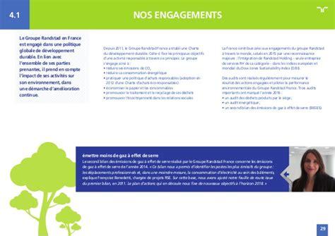 siege randstad rapport sociétal et environnemental 2016 du groupe