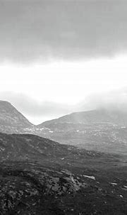 The Poisoned Glen Donegal bw Photograph by Eddie Barron