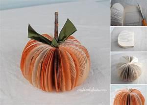 DIY Paper Pumpkins – The Perfect Fall Project
