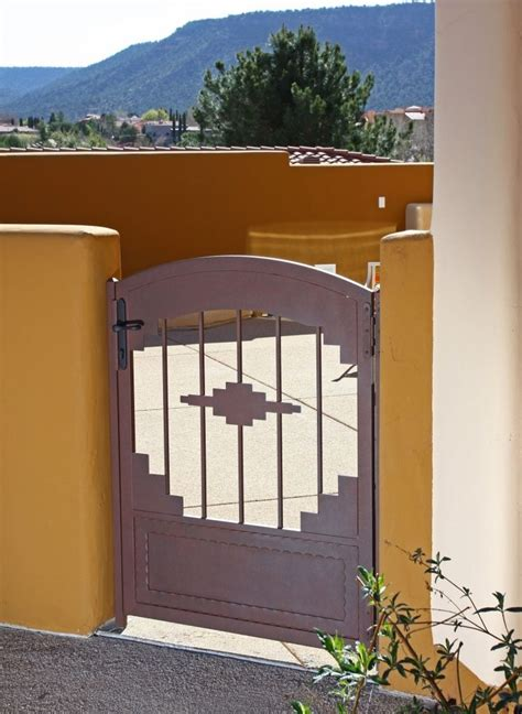 southwest iron gate exterior gates wrought iron gates