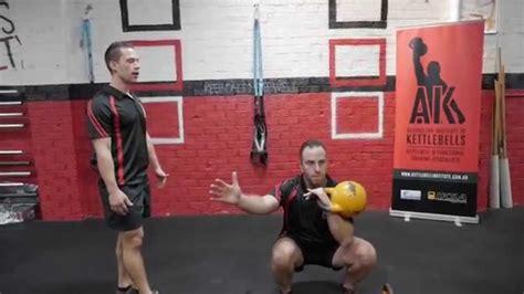 kettlebell squat master