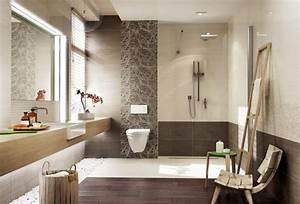 Braune Fliesen Bad : badezimmer in beige modern gestalten tipps und ideen ~ A.2002-acura-tl-radio.info Haus und Dekorationen