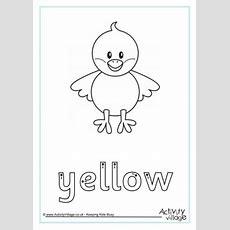Yellow Handwriting Worksheet
