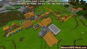 Village in Mountains Seed MCPE 1.11, 1.10.0, 1.9.0.15