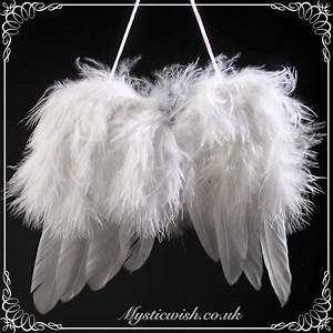 Small Feather Hanging Guardian Angel wings | Mystic Wish