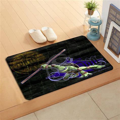 buy  custom teenage mutant ninja turtles watercolor painting doormat home