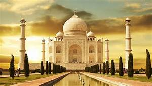 Taj Mahal at Night Wallpaper 3D ·①