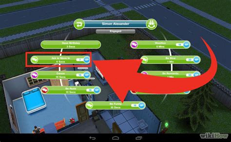 how do you get the baby to use the toilet in sims freeplay