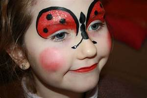 Maquillage Simple Enfant : maquillage enfant coccinelle pinteres ~ Farleysfitness.com Idées de Décoration