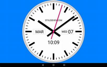 Clock Analog Swiss Android Type