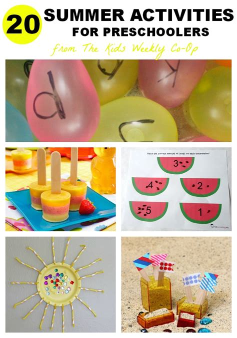 summer activities for mess for less 133 | summer activities for preschoolers