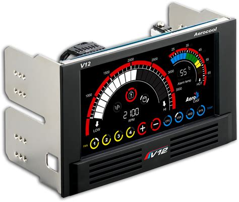 Vxt Channel Lcd Touch Panel Fan Controller