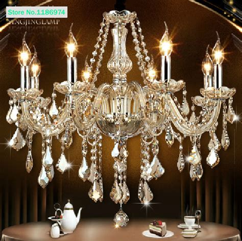 Aliexpress  Buy Cognac Modern Crystal Chandelier 8