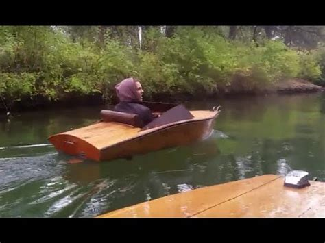 Mini Boat Electric by Plywood Mini Boat Electric Inboard Cruise