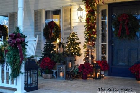 Outdoor Christmas Decorating Ideas Front Porch by Classy Outdoor Christmas Decorations Ideas Designcorner