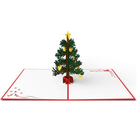 christmas tree pop  card lovepop