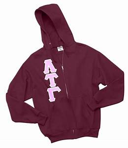 custom greek letter hoodie With greek letter zip up hoodie