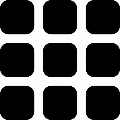 Grid Icon 3x3 Svg Icons Table Vector