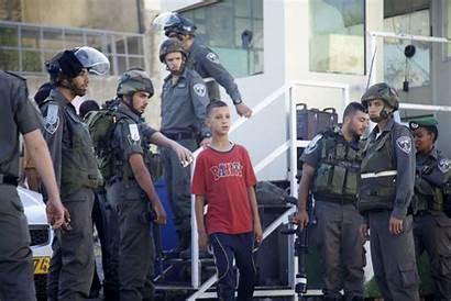 Arrested Arrests Detentions Forsstroem Eappi Boy Hebron