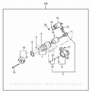 Robin  Subaru Ex40 Parts Diagram For Electric Starter