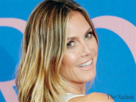 Maybe you would like to learn more about one of these? Heidi Klum embracing her age